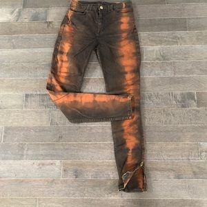 American Apparel high waisted Acid skinny Jeans